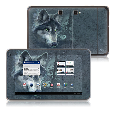 LG G-Slate Tablet Skin - Wolf Reflection