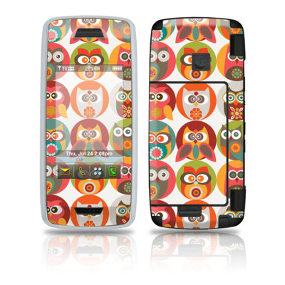 LG Voyager Skin - Owls Family