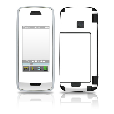 LG Voyager Skin - Solid State White
