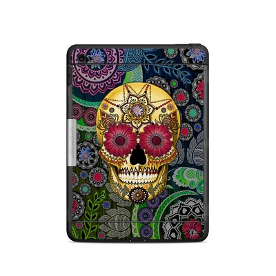 Lifeproof iPad Air 2 Nuud Case Skin - Sugar Skull Paisley