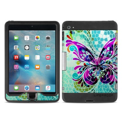Lifeproof iPad Mini Nuud 4 Case Skin - Butterfly Glass