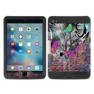 Lifeproof iPad Mini Nuud 4 Case Skin - Butterfly Wall