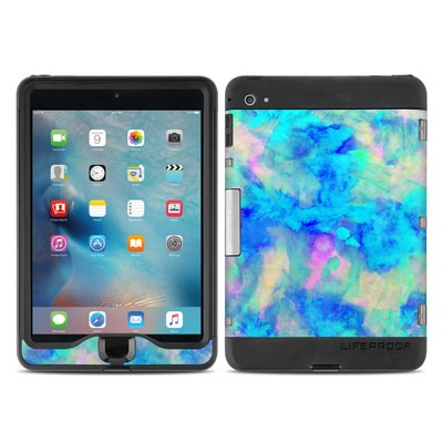 Lifeproof iPad Mini Nuud 4 Case Skin - Electrify Ice Blue