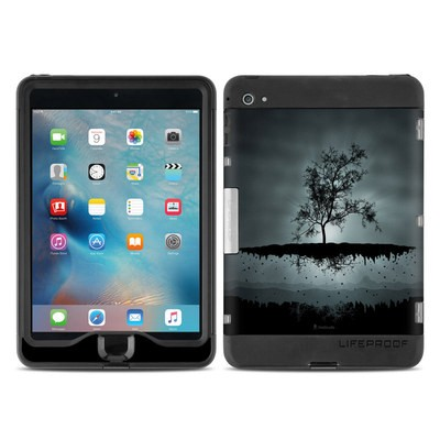 Lifeproof iPad Mini Nuud 4 Case Skin - Flying Tree Black