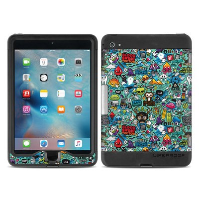 Lifeproof iPad Mini Nuud 4 Case Skin - Jewel Thief
