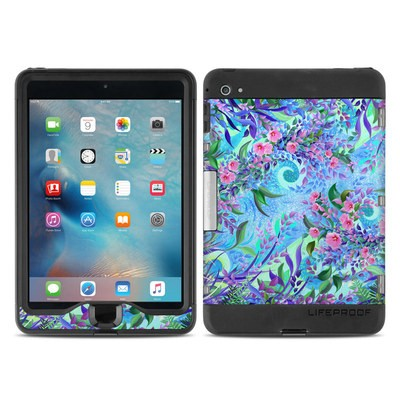 Lifeproof iPad Mini Nuud 4 Case Skin - Lavender Flowers