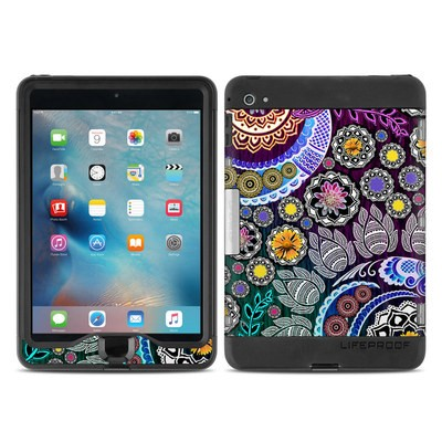 Lifeproof iPad Mini Nuud 4 Case Skin - Mehndi Garden