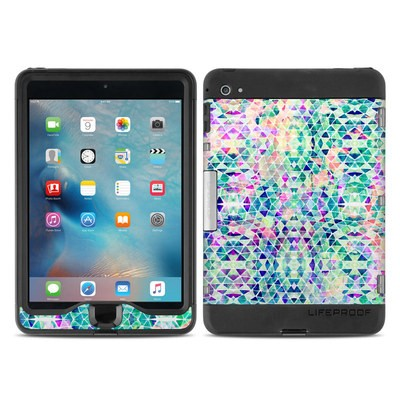Lifeproof iPad Mini Nuud 4 Case Skin - Pastel Triangle