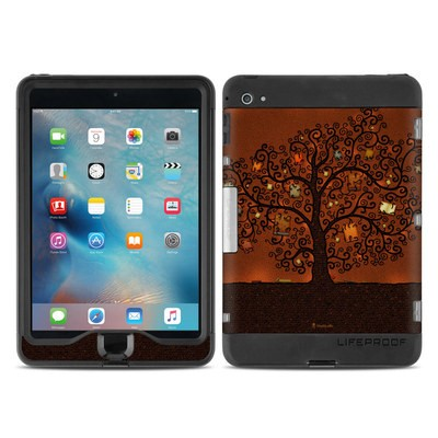 Lifeproof iPad Mini Nuud 4 Case Skin - Tree Of Books