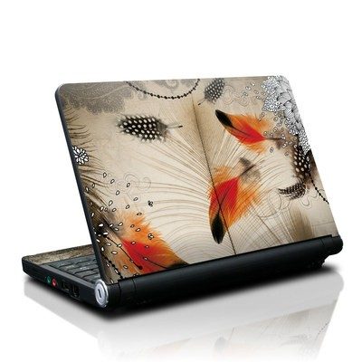 Lenovo IdeaPad S10 Skin - Feather Dance