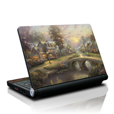 Lenovo IdeaPad S10 Skin - Sunset On Lamplight Lane