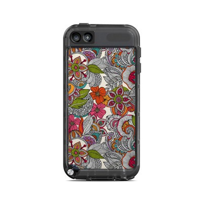Lifeproof iPod Touch 5G Case Skin - Doodles Color