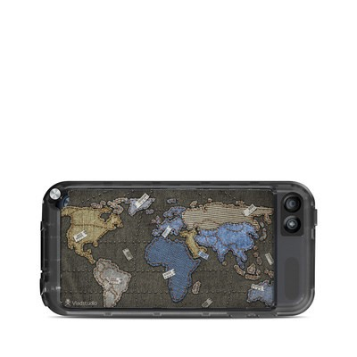 Lifeproof iPod Touch 5G Case Skin - Jean Map