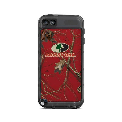 Lifeproof iPod Touch 5G Case Skin - Break-Up Lifestyles Red Oak