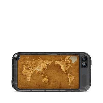 Lifeproof iPod Touch 5G Case Skin - Upside Down Map