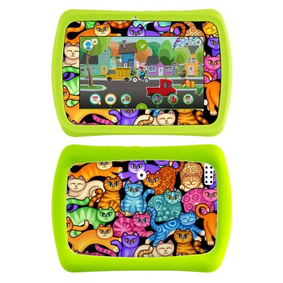 LeapFrog LeapPad Epic Skin - Colorful Kittens
