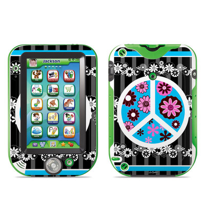 LeapFrog LeapPad Ultra Skin - Peace Flowers Black