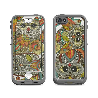 Lifeproof iPhone 5S Nuud Case Skin - 4 owls