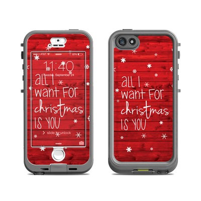 Lifeproof iPhone 5S Nuud Case Skin - All I Want
