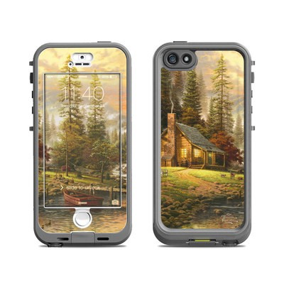 Lifeproof iPhone 5S Nuud Case Skin - A Peaceful Retreat