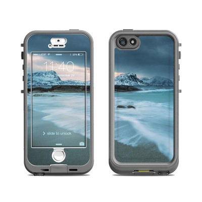Lifeproof iPhone 5S Nuud Case Skin - Arctic Ocean
