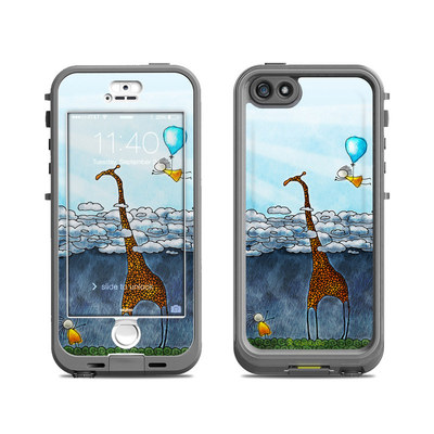Lifeproof iPhone 5S Nuud Case Skin - Above The Clouds