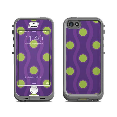 Lifeproof iPhone 5S Nuud Case Skin - Atomic