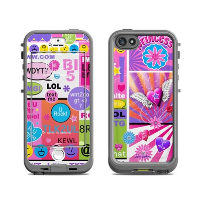 Lifeproof iPhone 5S Nuud Case Skin - BFF Girl Talk