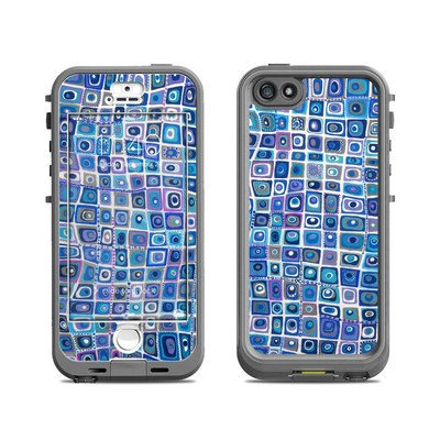 Lifeproof iPhone 5S Nuud Case Skin - Blue Monday