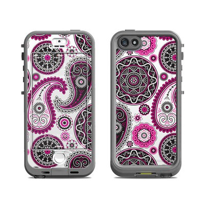 Lifeproof iPhone 5S Nuud Case Skin - Boho Girl Paisley