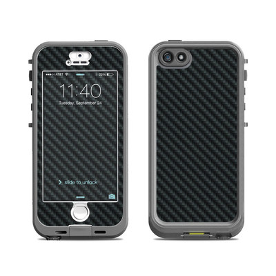 Lifeproof iPhone 5S Nuud Case Skin - Carbon