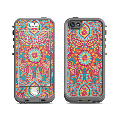 Lifeproof iPhone 5S Nuud Case Skin - Carnival Paisley