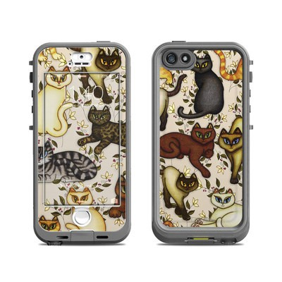 Lifeproof iPhone 5S Nuud Case Skin - Cats