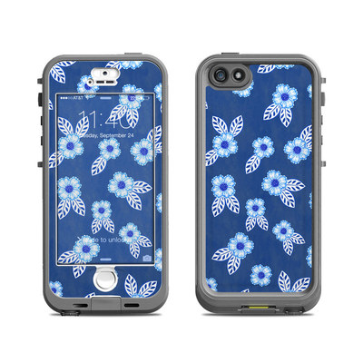 Lifeproof iPhone 5S Nuud Case Skin - China Blue