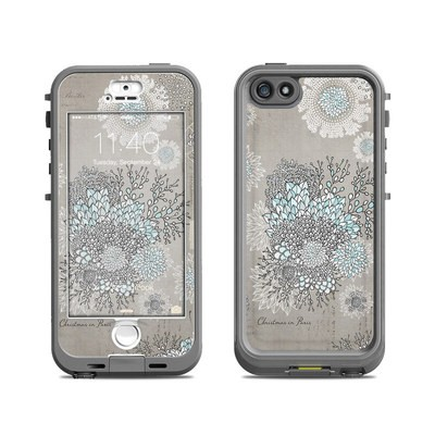 Lifeproof iPhone 5S Nuud Case Skin - Christmas In Paris