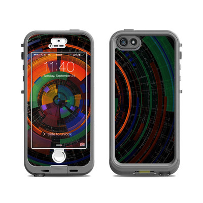 Lifeproof iPhone 5S Nuud Case Skin - Color Wheel