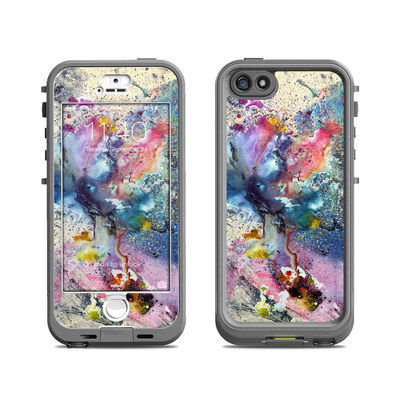 Lifeproof iPhone 5S Nuud Case Skin - Cosmic Flower