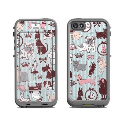 Lifeproof iPhone 5S Nuud Case Skin - Doggy Boudoir