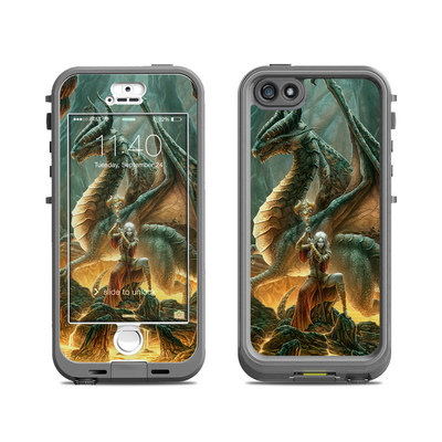 Lifeproof iPhone 5S Nuud Case Skin - Dragon Mage