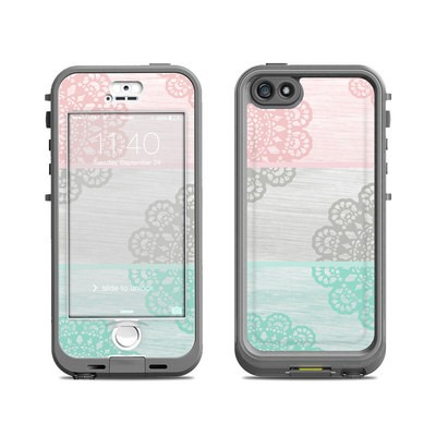 Lifeproof iPhone 5S Nuud Case Skin - Doily