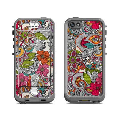 Lifeproof iPhone 5S Nuud Case Skin - Doodles Color