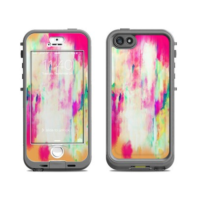 Lifeproof iPhone 5S Nuud Case Skin - Electric Haze
