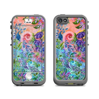 Lifeproof iPhone 5S Nuud Case Skin - Fantasy Garden
