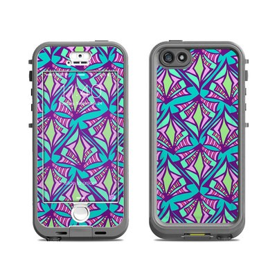 Lifeproof iPhone 5S Nuud Case Skin - Fly Away Teal
