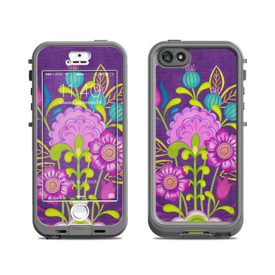 Lifeproof iPhone 5S Nuud Case Skin - Floral Bouquet