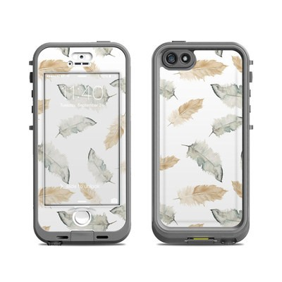 Lifeproof iPhone 5S Nuud Case Skin - Feathers