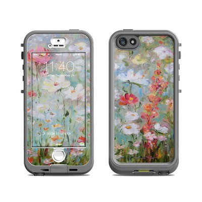 Lifeproof iPhone 5S Nuud Case Skin - Flower Blooms