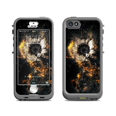 Lifeproof iPhone 5S Nuud Case Skin - Flower Fury