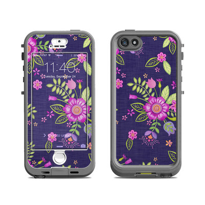 Lifeproof iPhone 5S Nuud Case Skin - Folk Floral