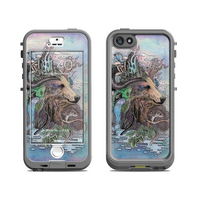 Lifeproof iPhone 5S Nuud Case Skin - Forest Warden